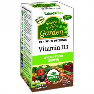 Garden Vitamina D3 60 Capsulas