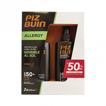 PACK DUPLO PIZ BUIN ALLERGY...