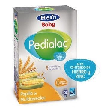 Pedialac Papilla Multicereales 500 Grs