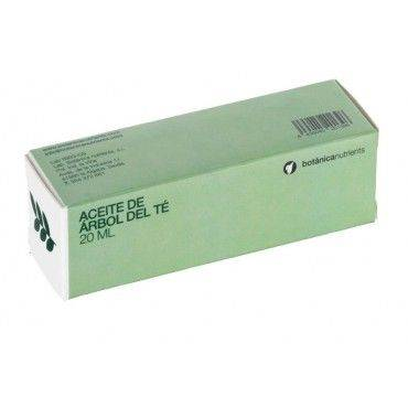 Botanica Nutrients Aceite De Arbol Del Te 20 Ml (Gotero)
