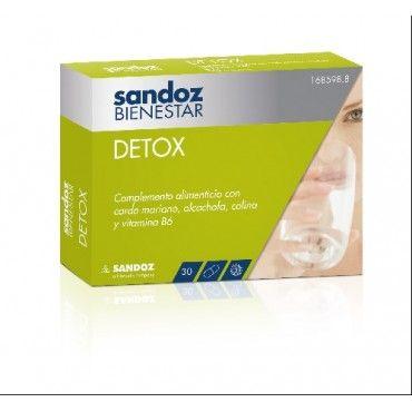 Sandoz Bienestar Detox 30 Capsulas