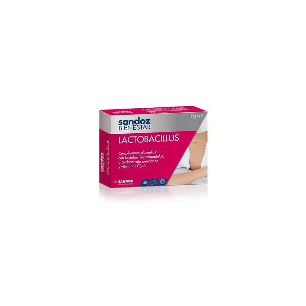 Sandoz Bienestar Lactobacillus20 Unidades