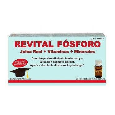 Revital Fosforo 20 Ampollas