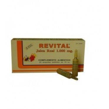 Revital Jalea Real 1000 Mg 20 Ampollas