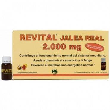 Revital Jalea Real 2000 Mg 20 Ampollas
