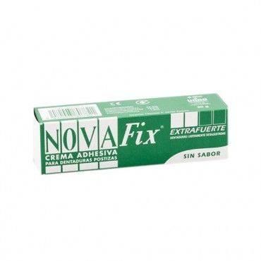 Novafix Extra Fuerte Crema Adhesiva Sin Sabor 20 Gramos.