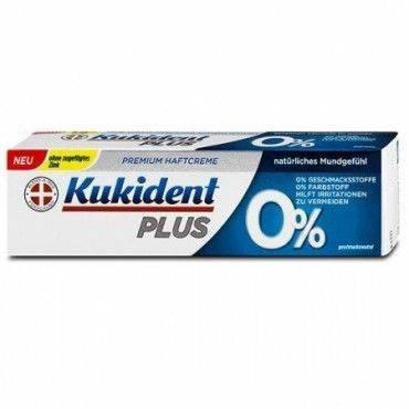 Kukident Pro Plus 0% 40 Gramos