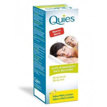 Quies Spray Anti-Ronquidos Miel-Limon 70 Ml