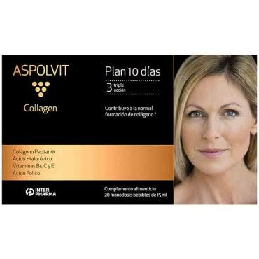 Aspolvit Collagen Antiaging Triple Accion 20 Monodosis