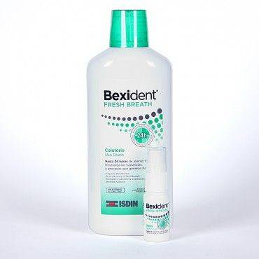 Bexident Pack Fresh Colutorio 500ML+Spray 15Ml