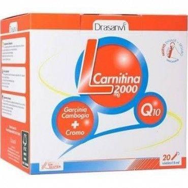 Drasanvi L Carnitina 2000 Mg 20 Viales