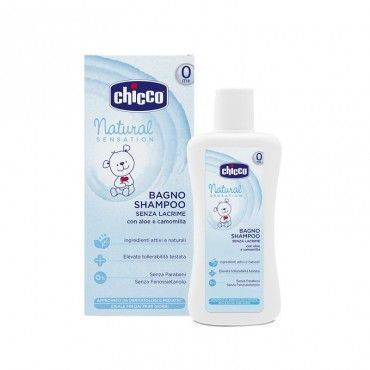 Chicco Natural Sensation Gel De Baño y Champu 200 Ml