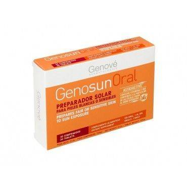 Genosun Oral Preparador Solar 30 Comprimidos