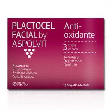 Aspolvit Plactocel Facial 15 Ampollas 2 Ml