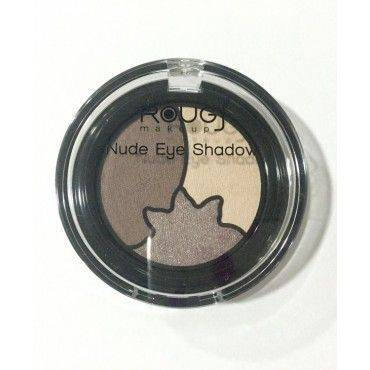 Rougj+ Makeup Sombras Nude Eye Shadow