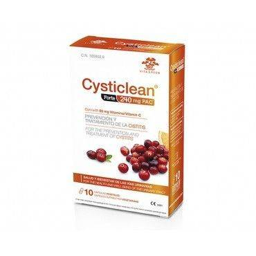Cysticlean Forte 240 Mg PAC 10 Capsulas