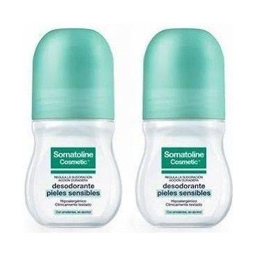 Somatoline Desodorante Pack Roll-On Piel Sensible 50 Ml