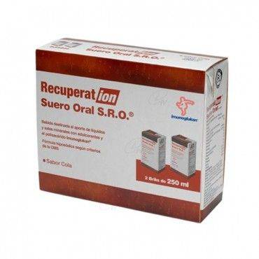 Recuperation Suero Oral Cola 2x250 Ml