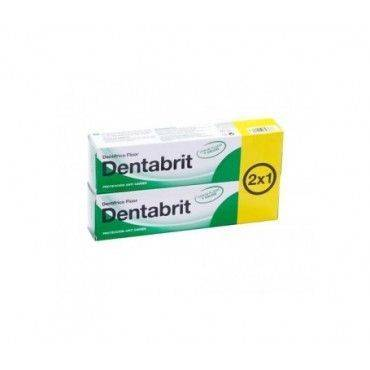 Dentabrit Pasta Dental Flúor 125 Ml+125 Ml