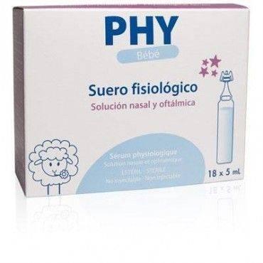 PHY Bebe Suero fisiológico 18 Viales