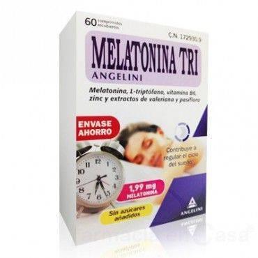 Angelini Melatonina Tri 1.99 60 Comprimidos