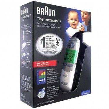 Braun Thermoscan 7 IRT6520 Termometro De Oido