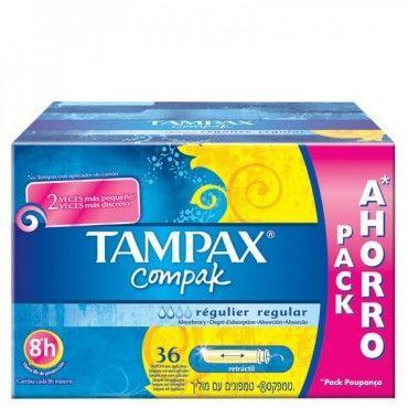 Tampax Compak Regular 36 Unidades