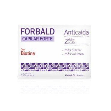 25d466f3e770 Forbald Capilar Forte 60 Capsulas
