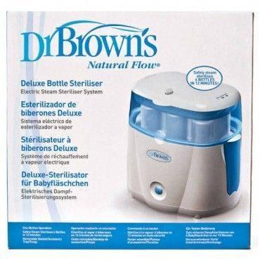 Dr Browns Esterilizador Eléctrico De Biberones Deluxe Natural Flow