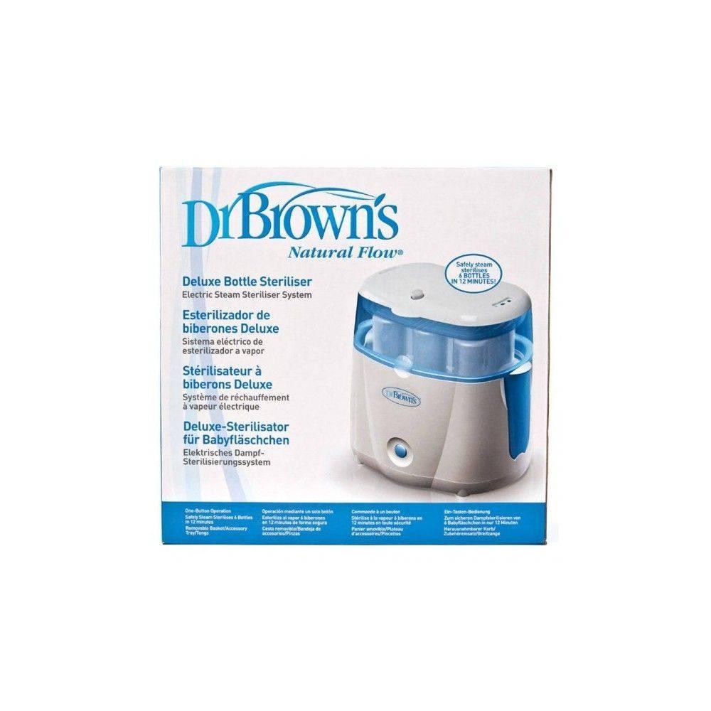 Dr Browns Flaschen Elektrischer Sterilisator Deluxe Natural Flow