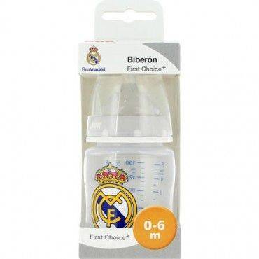 Nuk Biberon First Choice Silicona 0-6 Meses Real Madrid 150 Ml
