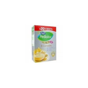 Pedialac Hero Baby Papilla 8 Cereales Excellence 600 Gramos