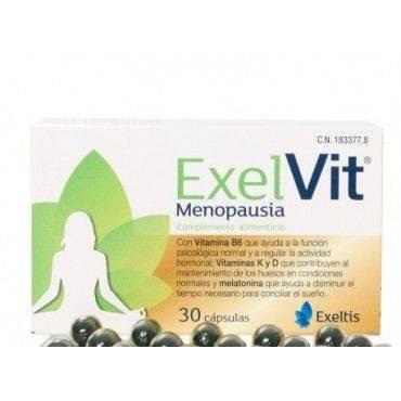 Exelvit Menopausia 30 Cápsulas