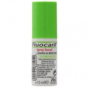 Fluocaril Aliento Bucal Fresco Spray 15 Ml