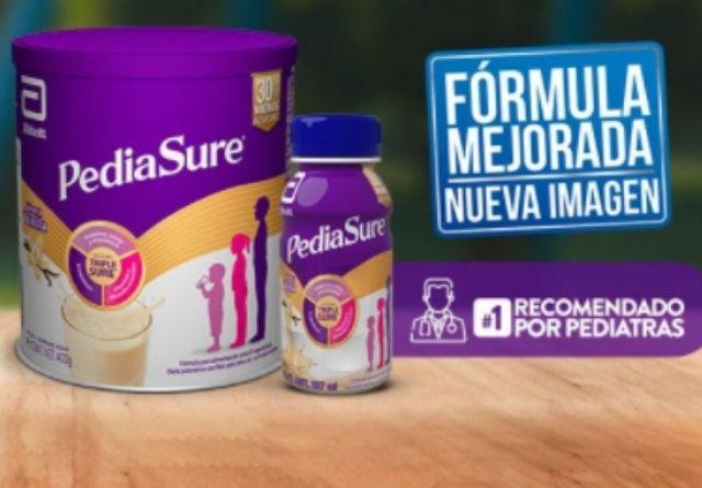 Pediasure contiene cinco nutrientes esenciales para la alimentación de los niños