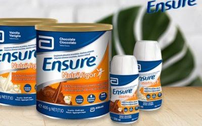 Ensure Nutrivigor y Ensure Max Protein, complementos alimenticios para adultos