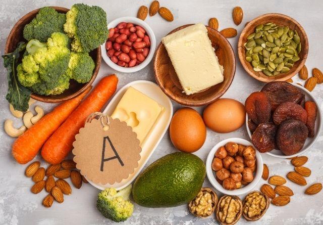 La vitamina A es vital para el cerebro