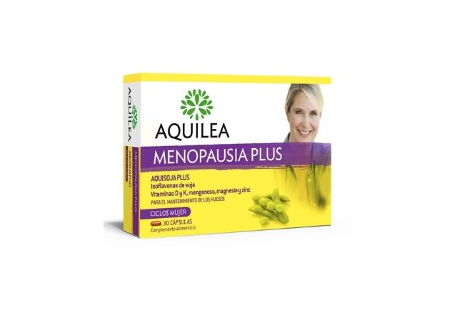 Este complemento alimenticio ayuda en los sofocos asociados a la menopausia