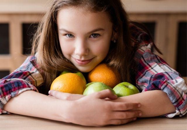 Los carbohidratos son esenciales en una dieta sana para niños