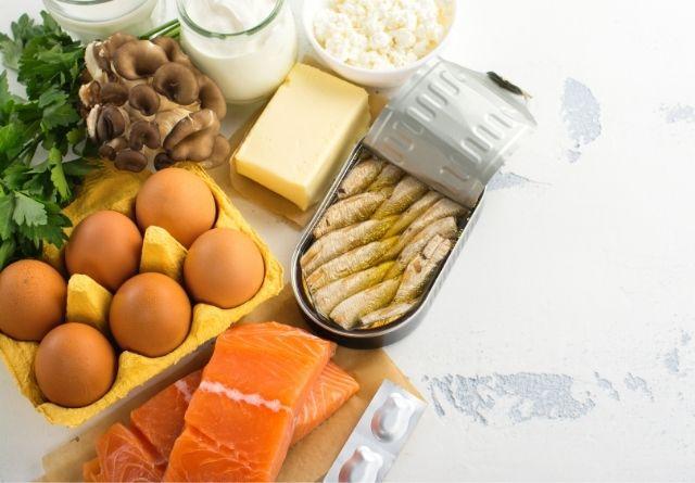 Determinados alimentos son ricos en Vitamina D