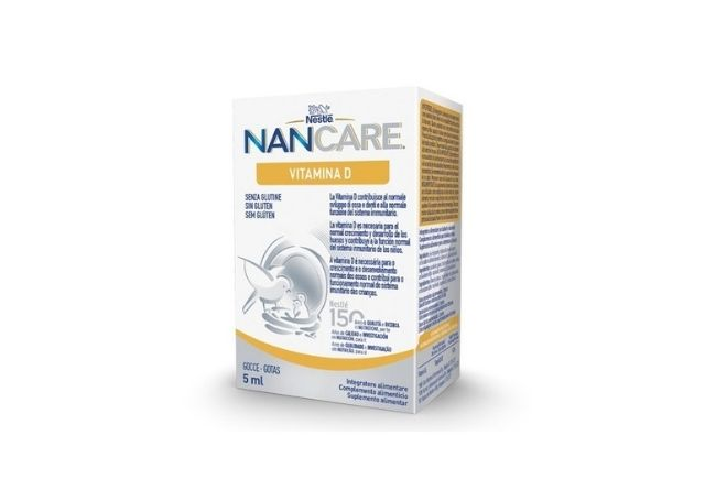 Nancare es un suplemento de Vitamina D especial para niños
