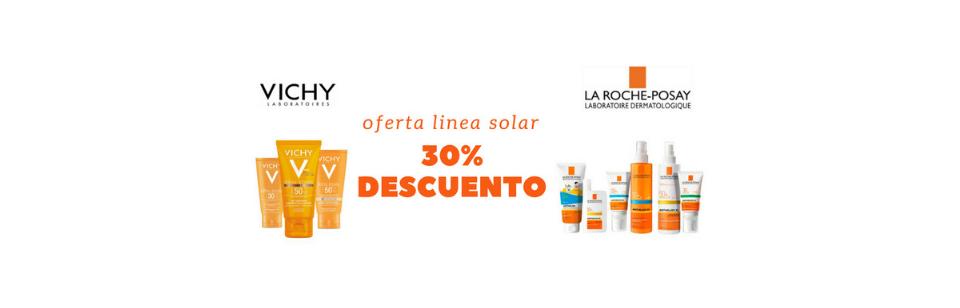 Oferta solares Vichy y anthelios